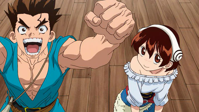 Dr. Stone anime - Age of Exploration Arc