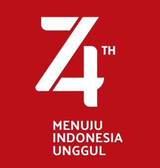 Tipe 2 : Tema dan Logo HUT Ke-74 Kemerdekaan RI Tahun 2019, http://www.librarypendidikan.com/