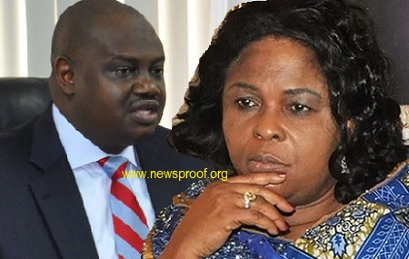 Patience Jonathan and Laamorde
