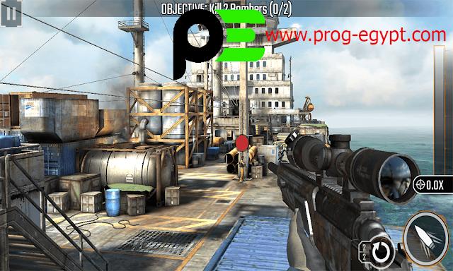تحميل لعبة sniper 3d مهكرة للاندرويد