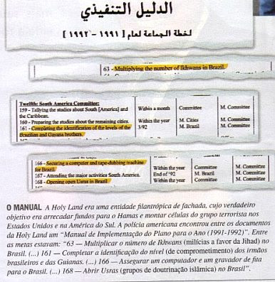 Brazil: Holy Land Foundation document