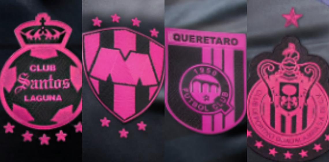 f79f6d16b0a1e Clubes mexicanos aderem a campanha do Outubro Rosa - Show de Camisas