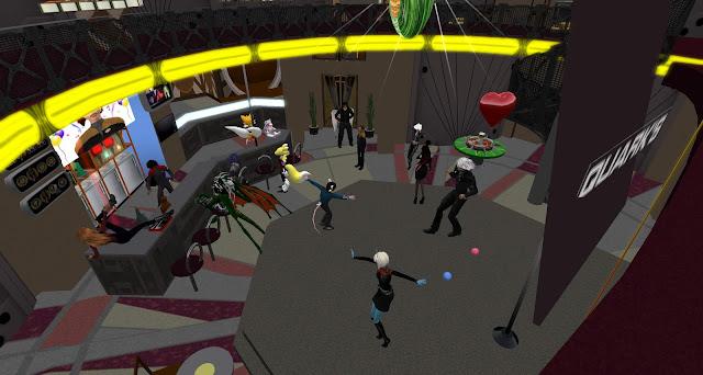 Party at Quark's Bar