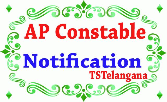 AP Constable Notification 2019 Application Dates