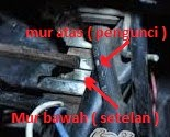 Cara Memperbaiki Setang Motor / Kom Leher Longgar