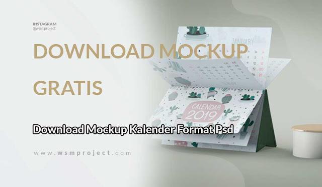 Download Mockup Kalender