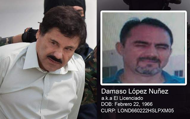 """¿Quién es Dámaso López """"El Licenciado""""? y su grupo de custodia llamado 'Los Sinaloas' y 'La Hermandad' bajo su tutela"""