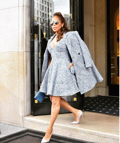 Marjorie Harvey Hits The Parisian Streets At Paris Fashion