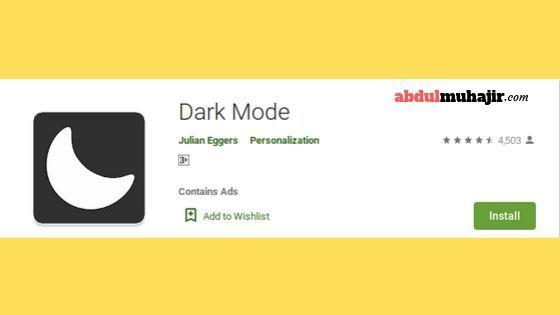 aplikasi untuk dark mode instagram