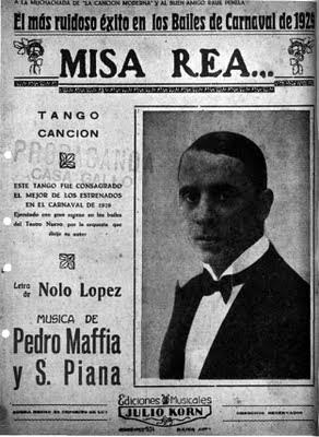 Partitura de Misa Rea de Sebastian Piana