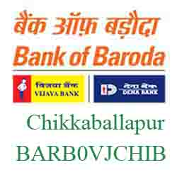 Vijaya Baroda Bank Chikkaballapur Branch New IFSC, MICR