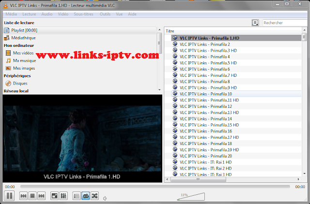 Free IPTV links Italy M3u HD Playlist
