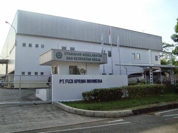 Lowongan Kerja PT Fuji Spring Indonesia November 2016