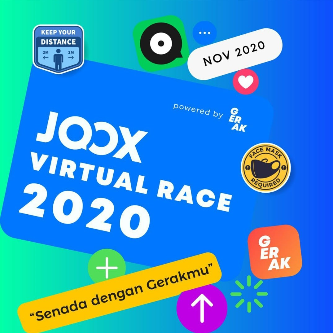 JOOX Virtual Race • 2020