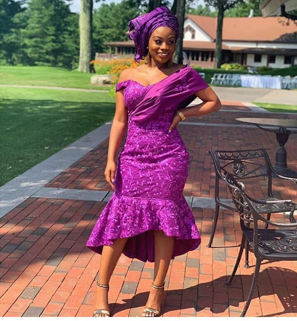 2019 Incredibly Beautiful Asoebi Styles for Events