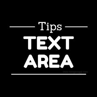 Cara Mudah Membuat Text Area Untuk Coding