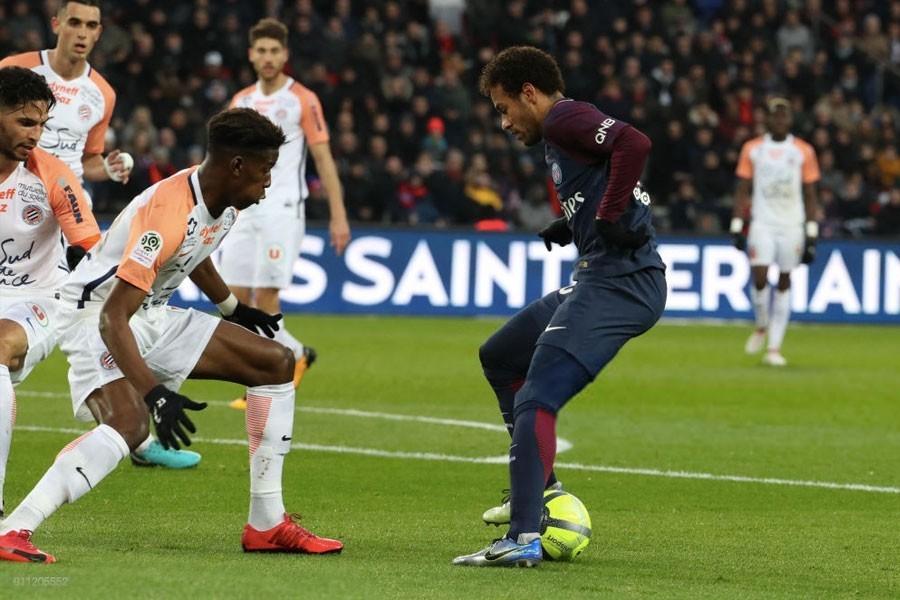 نتيجة مباراة باريس سان جيرمان ومونبلييه بتاريخ 01-02-2020 الدوري الفرنسي
