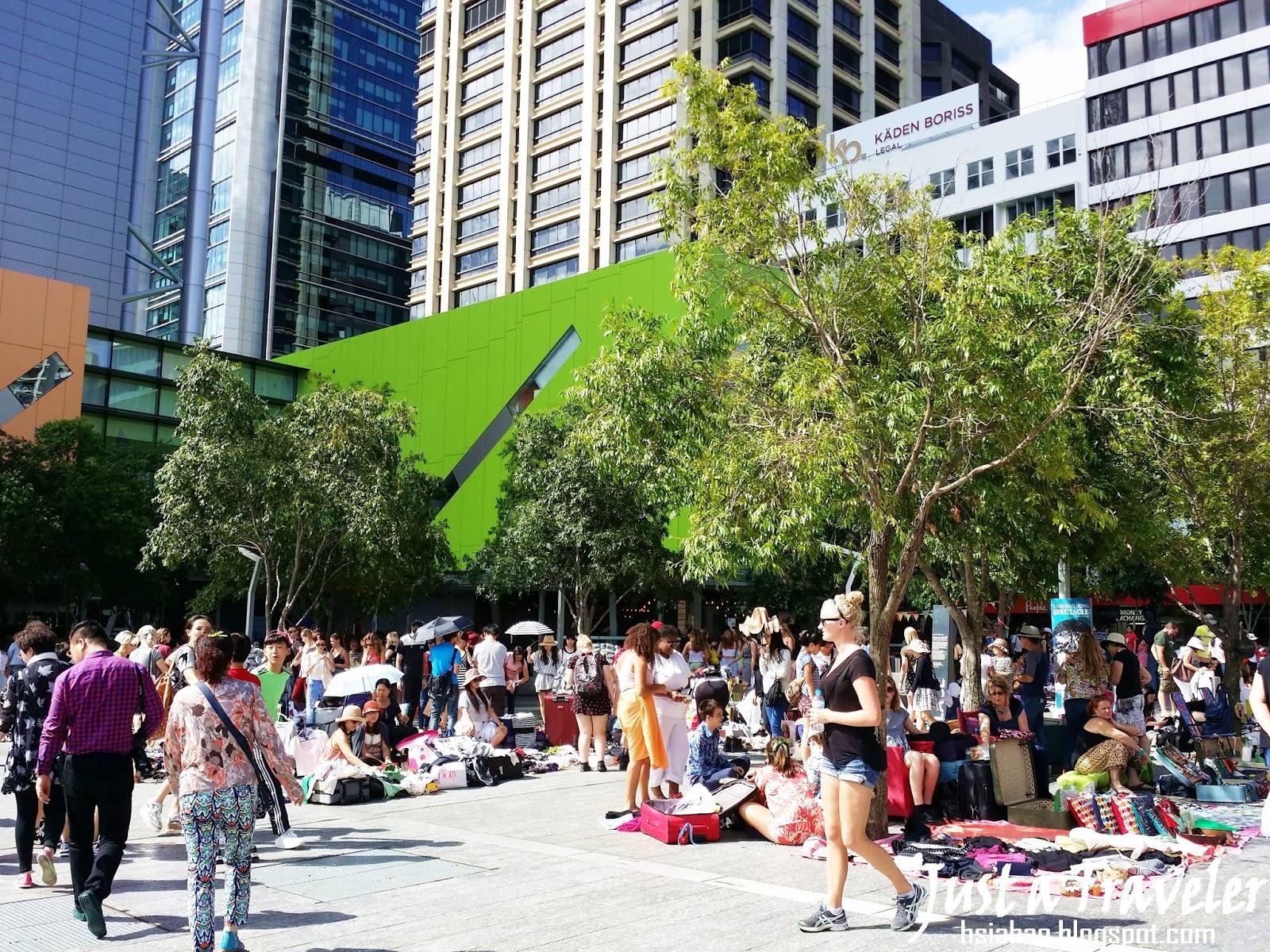 布里斯本-景點-推薦-皇后街-女王街-市集-圖書館-旅遊-自由行-澳洲-Brisbane-Queen-Street-Travel-Tourist-Attraction-Australia