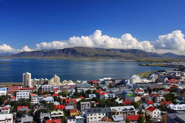 İzlanda'nın başkenti Reykjavik