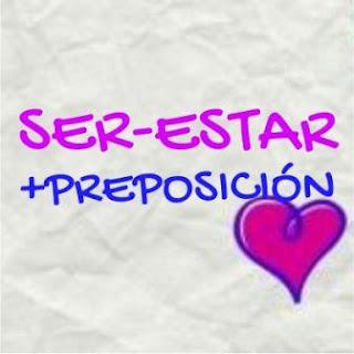 Ser-estar+preposición