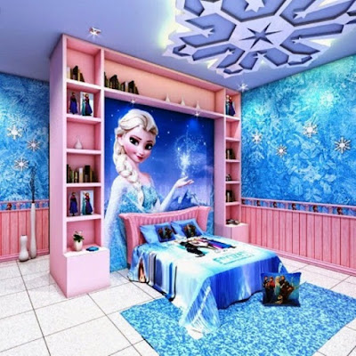 Kamar Tidur Anak Perempuan Frozen