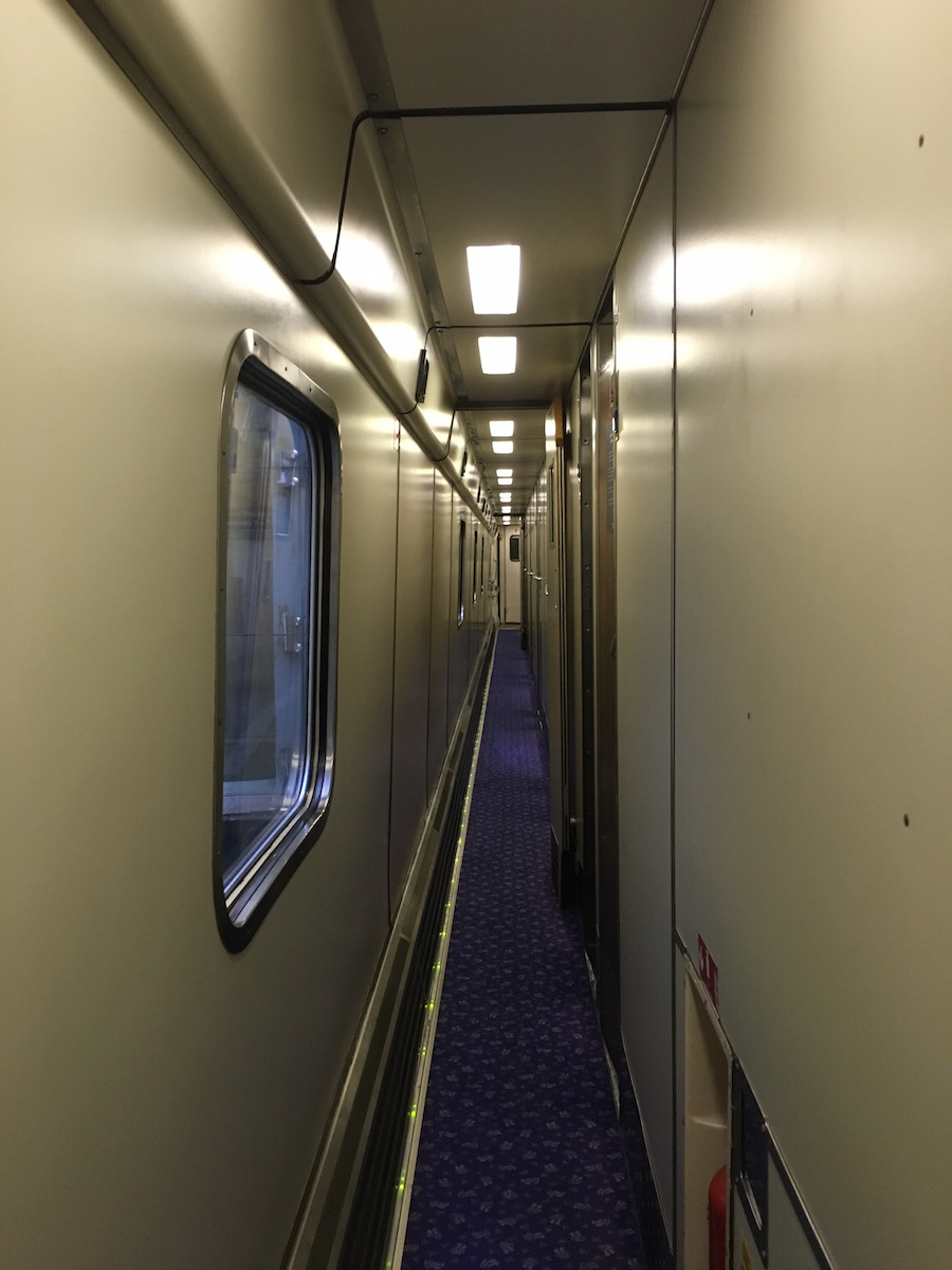 Caledonian Sleeper train London to Edinburgh, Scotland