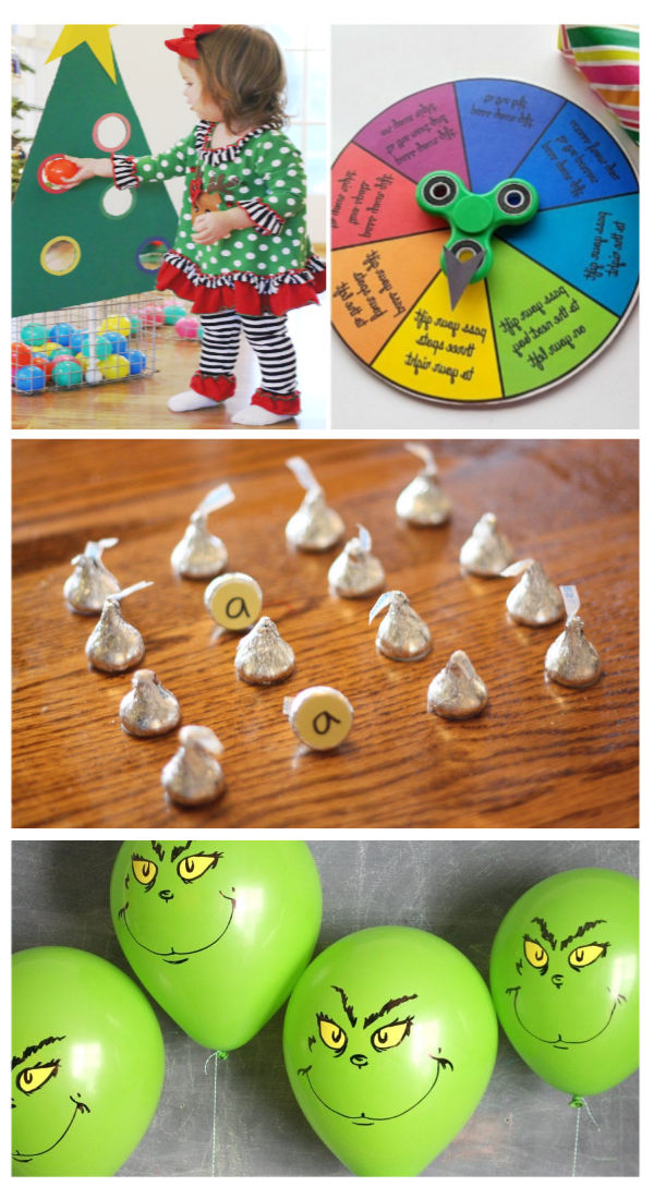 Fun and creative holiday party games for kids & families.  These are great for classroom parties, too! #christmas #christmaspartygames #christmaspartygamesforkids #holidaypartyideas #holidaypartygames #classroomchristmasparty #classroompartygames #holidaypartygamesforkidsatschool #growingajeweledrose #activitiesforkids