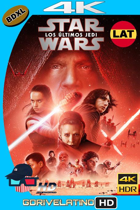Star Wars : Los Ultimos Jedi (2017) BDXL 4K UHD HDR Latino-Ingles ISO