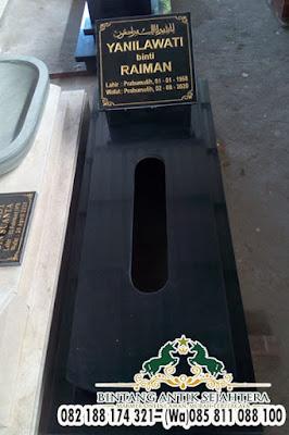Model Kuburan Granit, Makam Batu Granit Islam