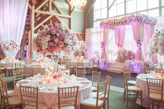 contoh dekorasi pernikahan sederhana kekinian