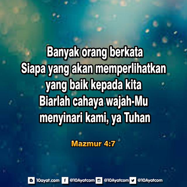 Mazmur 4:7