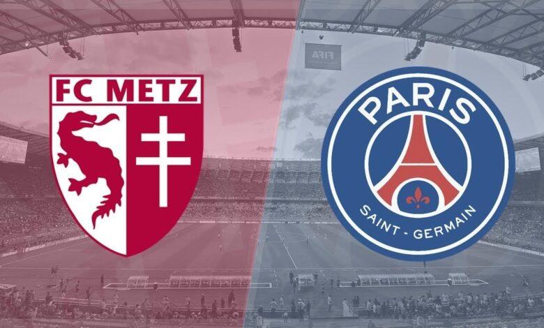 مشاهدة مباراة باريس سان جيرمان وميتز بث مباشر اليوم 22-09-2021 الدوري الفرنسيموقع عالم الكورة