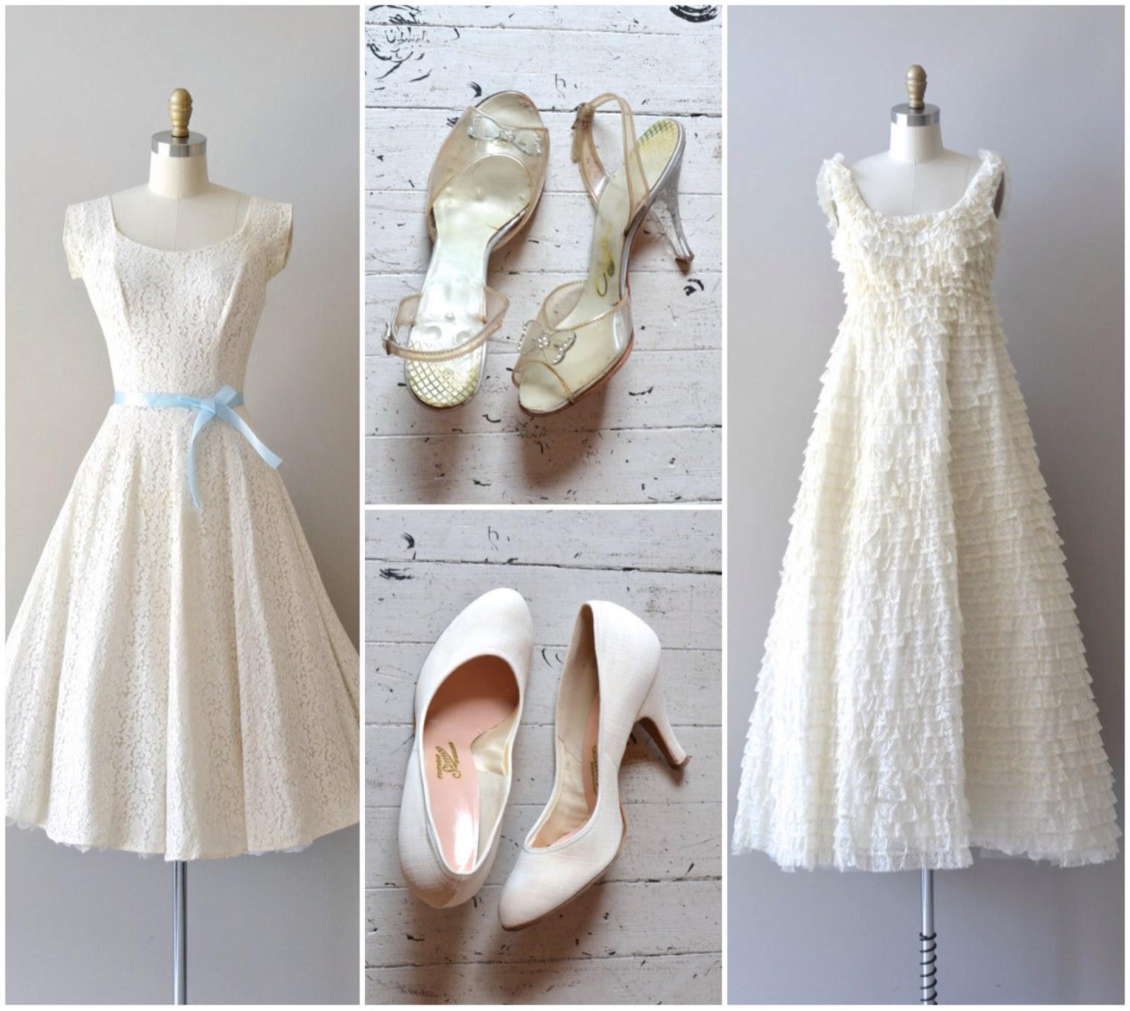 923a30174306 Vintage White Dress JPVQHm