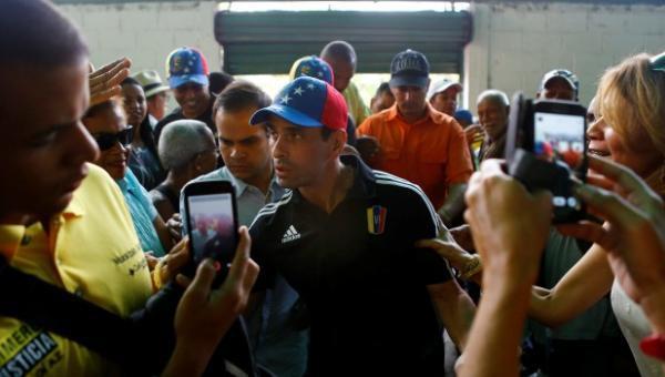Henrique Capriles le da despedida a su escolta fallecido el sábado