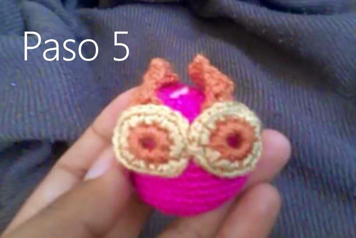 Buho Amigurumi a Crochet Paso 5