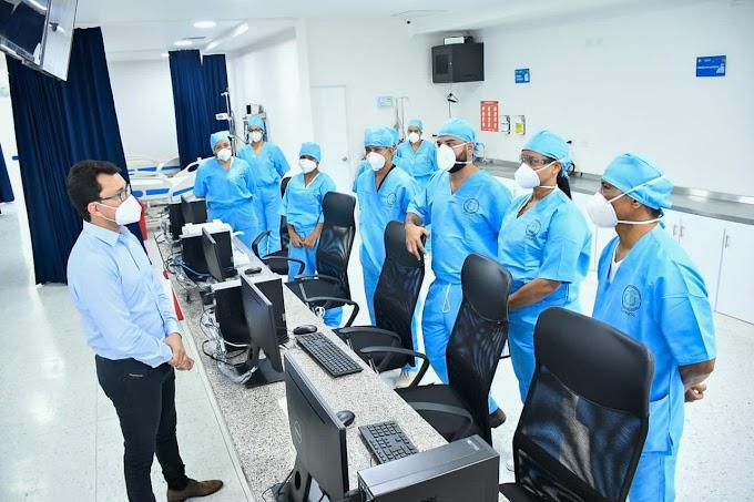 Gerentes de Hospitales del Magdalena brindan total respaldo al Gobernador Carlos Caicedo ante acusaciones infundadas
