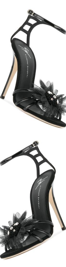 GIUSEPPE ZANOTTI DESIGN Jewelled Corsage Sandals