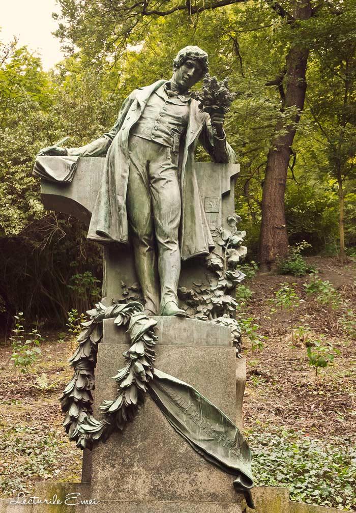 Karel Hynek Macha statuie Praga