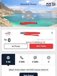 cara cek kuota internet telkomsel dengan my telkomsel