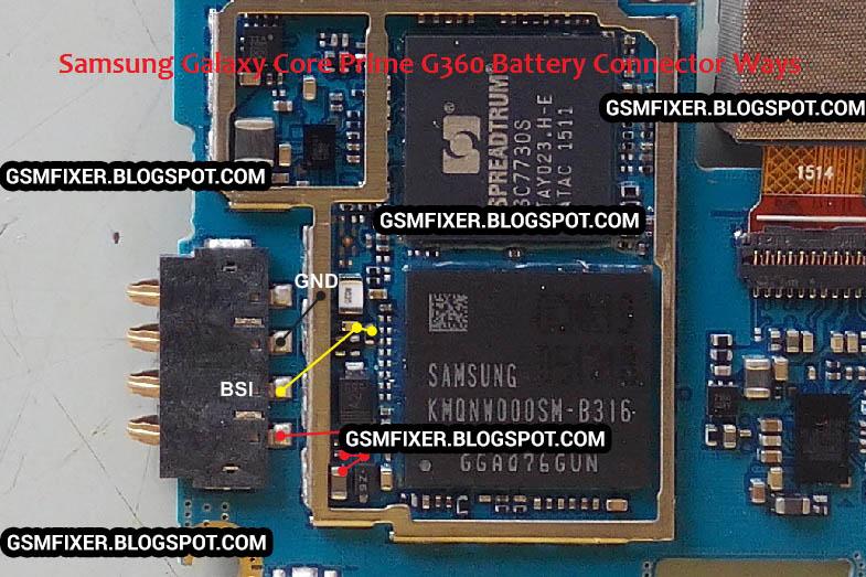 Samsung G360h Diagram
