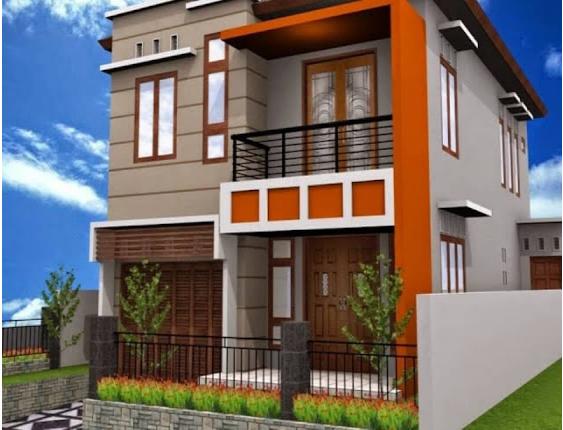100 Rumah Minimalis Bertingkat 2 Lantai Dan Desain Terbaru