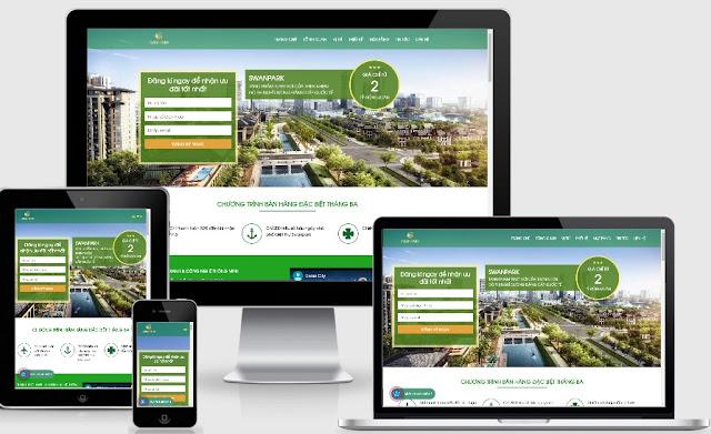 Theme wordpres bất động sản dự án Swancity cực đẹp và tối ưu