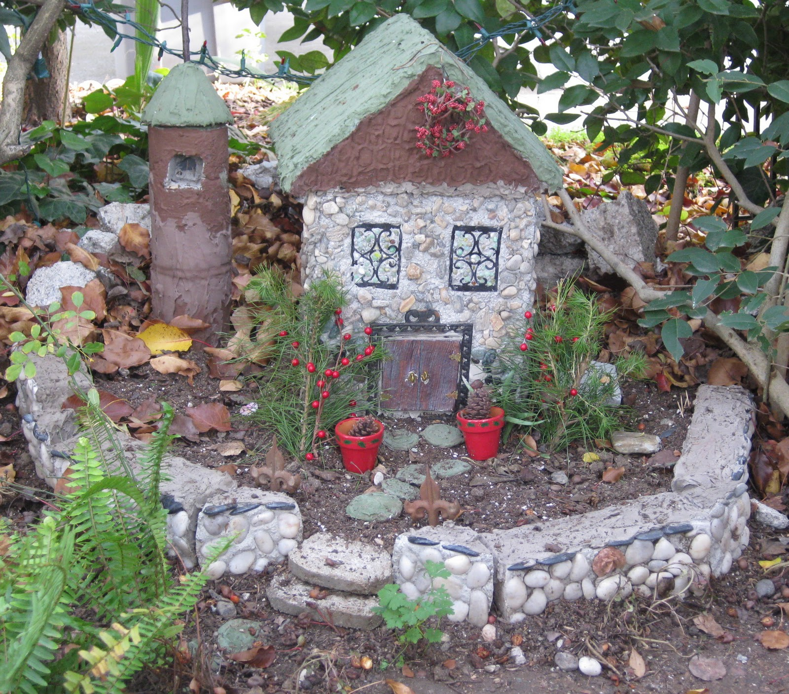 Growing A Garden In Davis: The Fairy House Opens for Guests