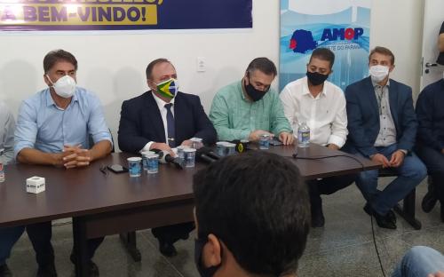 Governo de Toledo promove ações para enfrentamento da pandemia
