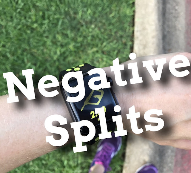 negative splits split running racing training cycling exercise speed energy