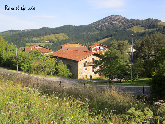Barrio de Gallartu en Orozko (Bizkaia)