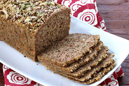 Low Carb High Protein Nut and Seed Bread (Paleo)