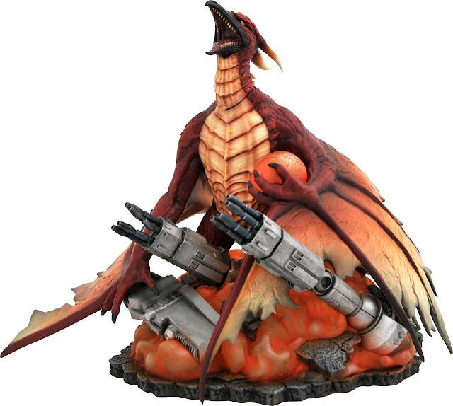 Toy Fair 2020 Diamond Select Godzilla 1993 Godzilla vs. Mechagodzilla II Godzilla Gallery Rodan 8-Inch PVC Diorama Statue