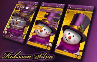 Snow Man Theme For YOWhatsApp & Fouad WhatsApp By Robsson