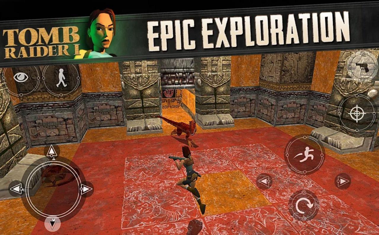 Tomb Raider Arabia تومب رايدر بالعربي: Tomb Raider on Android